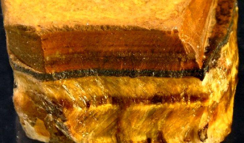 необработанный Камень тигровый глаз