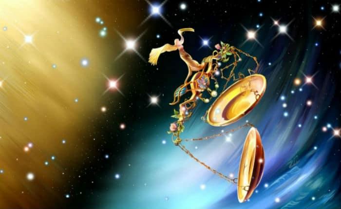 весы знак зодиака в космосе