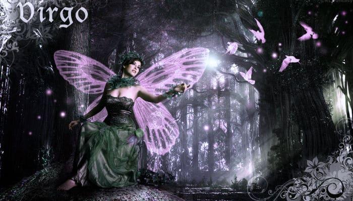 дева знак зодиака с крыльями