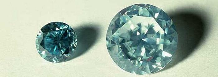 обработанный камень циркон