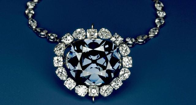 Ожерелье с танзанитом