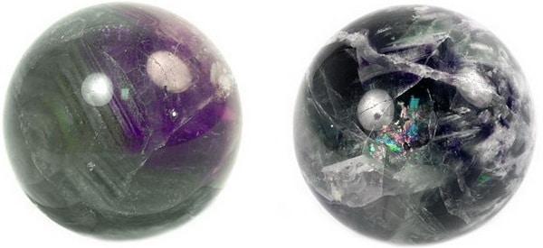 шары из флюорита