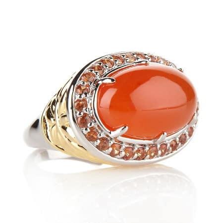 кольцо с сардониксом