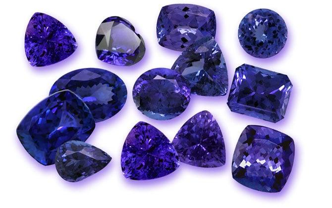 Камни танзанита