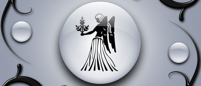 девы знак зодиака черно-белый