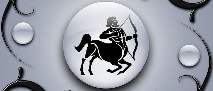 стрелец знак зодиака черно-белый