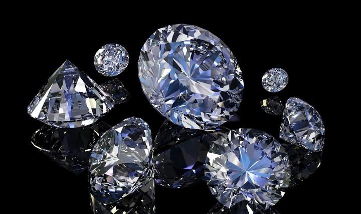 Обработанный алмаз