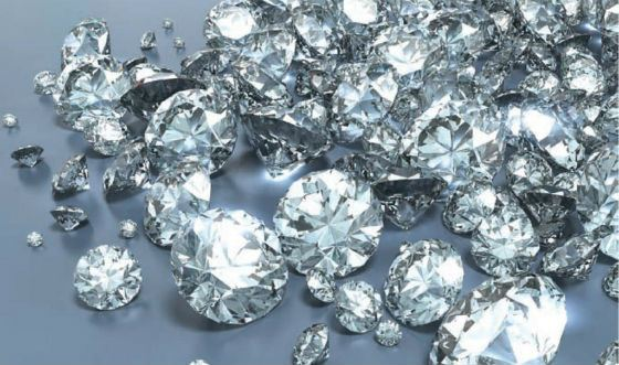 маленькие алмазы
